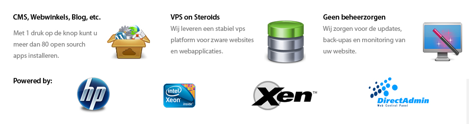 Kwaliteit webhosting